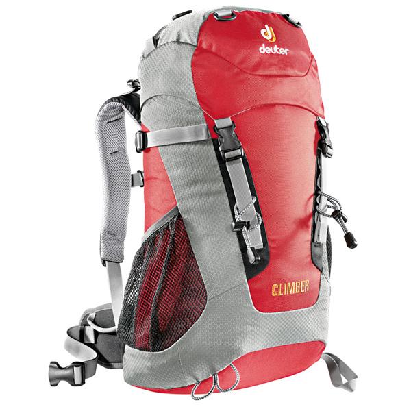 Рюкзак Deuter Climber 22 Fire Silver
