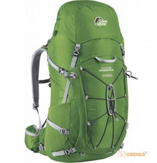 Купить Рюкзаки, Рюкзак Lowe Alpine Kamet ND 55:65 Guacamole/Zinc