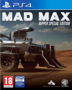 игра Mad Max. Ripper Edition PS4