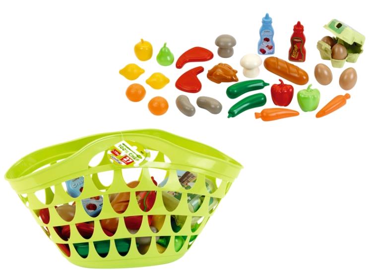 Великий кошик з продуктами (27 аксес.)
