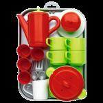 Набор с посудой и подносом 'Chef-Cook'
