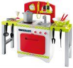 Кухня с раздвижными столешницами, посудой и аксессуарами 'Chef-Cook'