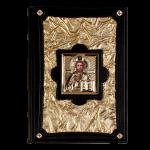 Книга Библия 'Златая' с иконой (M1)