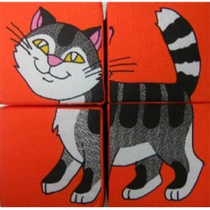 Кубики 'Собери картинку. Домашние животные'