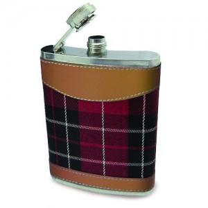 Подарок Фляга 'Шотландский Тартан'