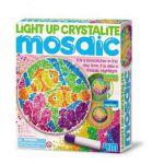 Светящаяся кристаллическая мозаика