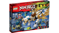 Конструктор LEGO Дракон Сэнсэя Ву