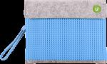 Подарок Клатч для планшета Upixel (Серо-голубой)
