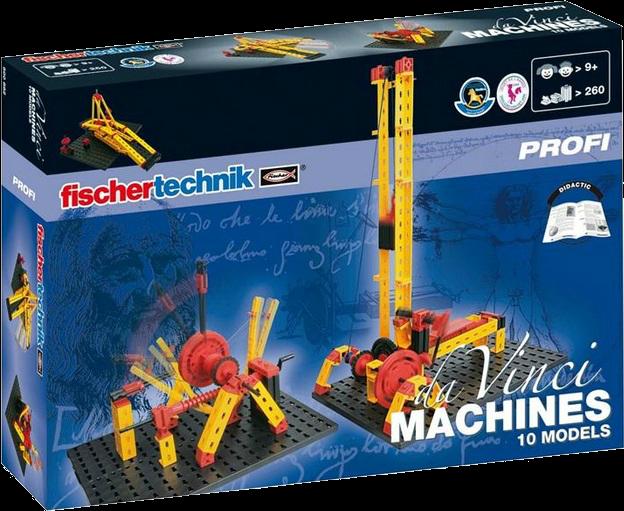 Купить Конструктор 'Машины Да Винчи', Fischertechnik