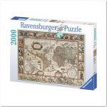 Пазл 'Карта Мира 1650 года' 2000 элементов