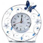 Подарок Настольные часы Charme de Femme 'Голубая бабочка'
