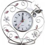 Подарок Настольные часы Charme de Femme 'Зеркальная бабочка'
