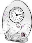 Подарок Настольные часы Charme de Femme 'Колокольчики и зеркальная бабочка'
