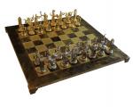Шахматы 'Троянская война' в деревянном футляре