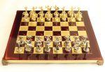 фото Шахматы 'Титаны' в деревянном футляре (красные) #4