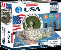Пазл объемный 'Соединенные Штаты Америки'