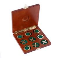 Настольная игра 'Крестики-нолики' в деревянной коробке