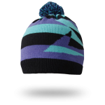 Водонепроницаемая шапка DexShell с бубоном (голубая)