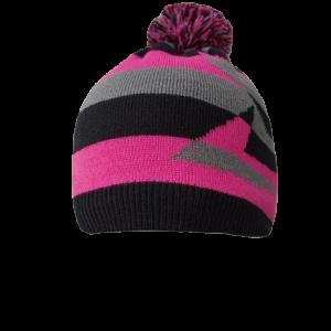 Водонепроницаемая шапка DexShell с бубоном (розовая)