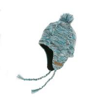 Водонепроницаемая шапка DexShell с ушами (голубая)