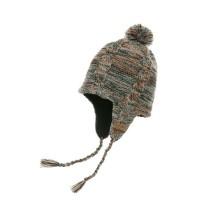 Водонепроницаемая шапка DexShell с ушами (коричневая)