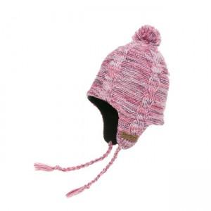 Водонепроницаемая шапка DexShell с ушами (розовая)