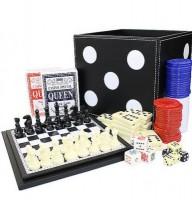 Набор из 6 игр: нарды, шашки, шахматы, домино, карты, кости