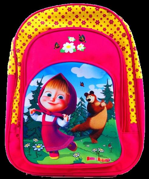 Рюкзак Маша и Медведь. Танцы