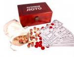 Настольная игра 'Русское лото в деревянном кейсе'