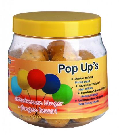 Бойлы Top Secret POP UPS плавающие 20мм 100г банан-рыба