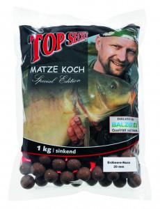 Бойлы Top Secret Matze Koch 20мм 1000г банан-фисташки