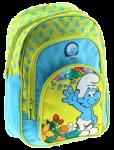 Подарок Рюкзак 'Смурфики' (зелено-голубой)