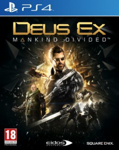 игра Deus Ex: Mankind Divided PS4