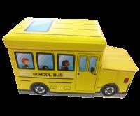 Детский пуф 'Автобус' (жёлтый)