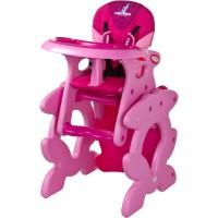 Стульчик для кормления Caretero 'Primus' (pink)