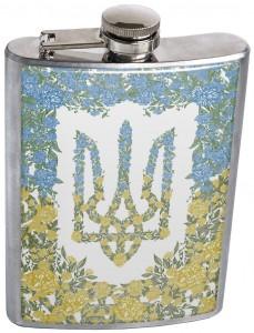 Подарок Фляга 'Україна квітуча'
