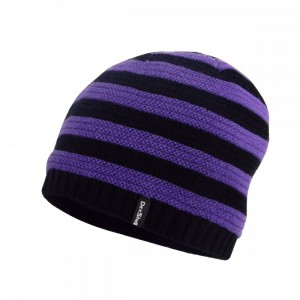 Детская водонепроницаемая шапка DexShell фиолетовая