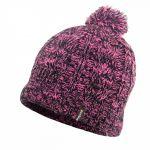 Водонепроницаемая шапка DexShell с бубоном розовая