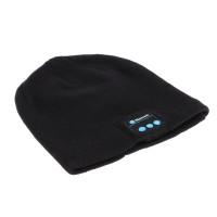 Подарок Зимняя шапка со встроенной Bluetooth-гарнитурой (Music Hat)