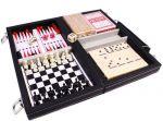 фото Настольная игра 'Набор из 6 игр: карты, шахматы, шашки, нарды, домино, кости' #2