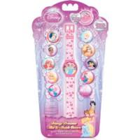 Годинник Disney Princess з набором змінних панелей для циферблату (5 функцій: місяць, дата, години, хвилини, секунди)
