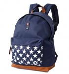 Рюкзак DERBY 'Классика Звезды' с отделением для ноутбука до 14,1'' синий