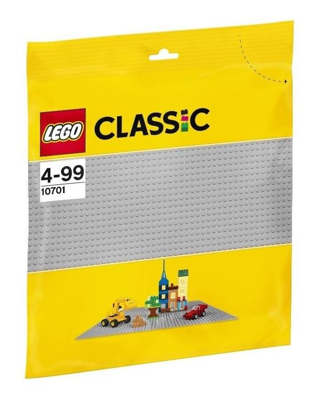 Конструктор LEGO Строительная пластина серого цвета