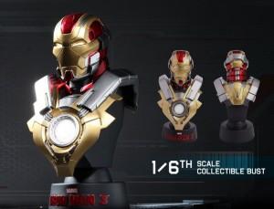 фото Коллекционный набор Железный человек 3 'Серия коллекционных бюстов' #5