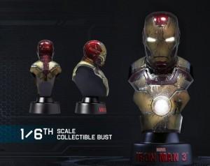 фото Коллекционный набор Железный человек 3 'Серия коллекционных бюстов' #7