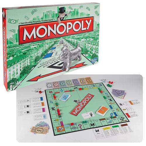 Настольная игра 'Монополия' на русском языке (новая версия)