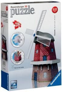 Пазл 'Ветряная мельница'