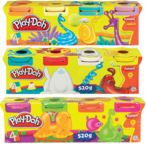 Набор для лепки 'Play-Doh' из 4-х баночек