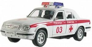 Автомодель Autotime 'ГАЗ-31105-скорая помощь' 1:43
