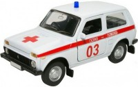 Автомодель Autotime 'ВАЗ-2121 Нива' 1:36